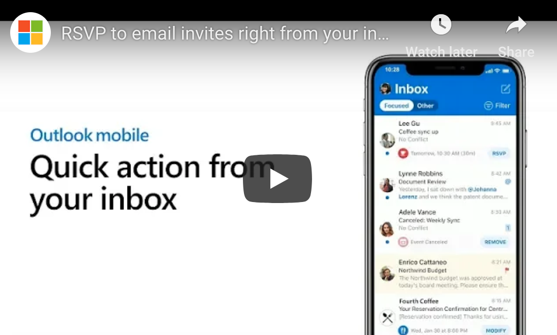 How to RSVP to Invites With Outlook Mobile